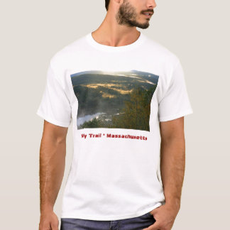 Jacobs Hill Fog, Tully Trail Massachusetts T-Shirt