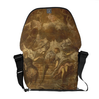 Jacob's Ladder (oil on canvas) Courier Bag