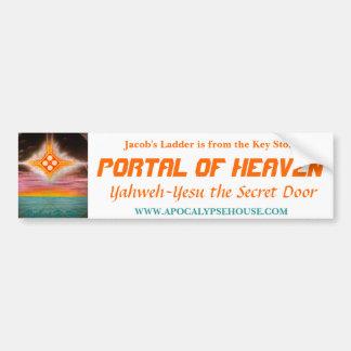 Jacob's Ladder: PORTAL OF HEAVEN Bumper Sticker