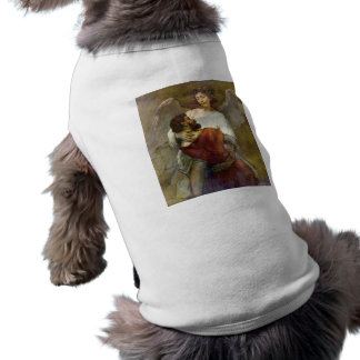Jacob's struggle with the angel by Rembrandt Pet Clothing
