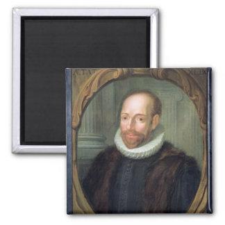 Jacobus Arminius, Professor of Theology 2 Inch Square Magnet
