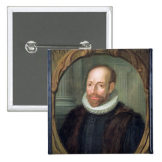 Jacobus Arminius, Professor of Theology Button