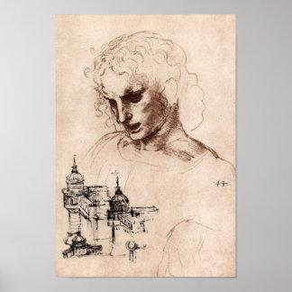 Jacobus Maior by Leonardo da Vinci Poster