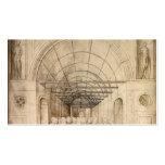 Jacopo Bellini: Doce apóstoles en paso saltado Plantilla De Tarjeta Personal