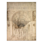Jacopo Bellini: Doce apóstoles en paso saltado Tarjeta Postal