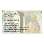 Jacopo Bellini- John the Evangelist, Apostle Peter Business Cards