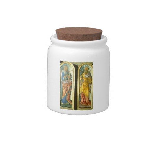 Jacopo Bellini- John the Evangelist, Apostle Peter Candy Jar