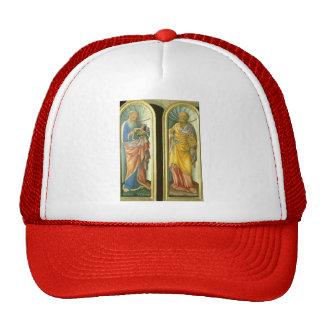 Jacopo Bellini- John the Evangelist Apostle Peter Mesh Hats
