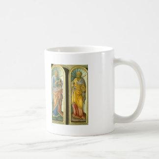 Jacopo Bellini- John the Evangelist, Apostle Peter Coffee Mugs