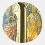 Jacopo Bellini- John the Evangelist, Apostle Peter Stickers