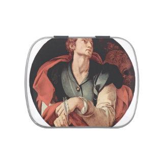 Jacopo Pontormo- cuatro evangelistas: Santo Lucas Jarrones De Dulces