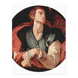 Jacopo Pontormo- cuatro evangelistas: Santo Lucas Postales