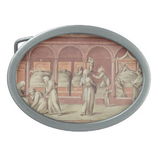 Jacopo Pontormo- Episode from the life in hospital Belt Buckle