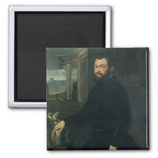 Jacopo Sansovino , originally Tatti 2 Inch Square Magnet