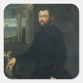 Jacopo Sansovino , originally Tatti Square Sticker
