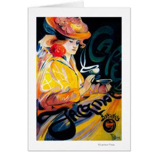 Jacqmotte Caf� Vintage PosterEurope Cards