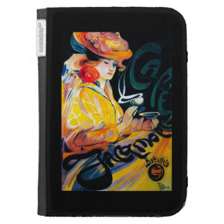Jacqmotte Caf� Vintage PosterEurope Cases For The Kindle