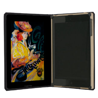 Jacqmotte Caf� Vintage PosterEurope iPad Mini Cover