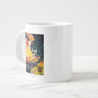 Jacqmotte Caf� Vintage PosterEurope Jumbo Mug