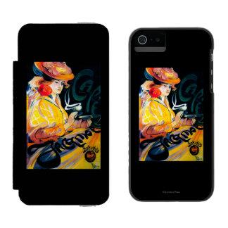 Jacqmotte Caf� Vintage PosterEurope Incipio Watson™ iPhone 5 Wallet Case