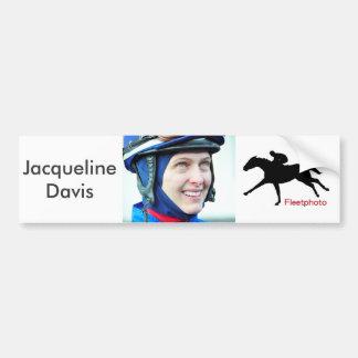 Jacqueline Davis Bumper Sticker