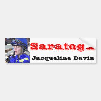 Jacqueline Davis looking very Confident Bumper Sticker