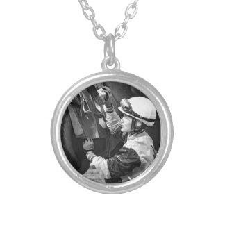 Jacqueline Davis Silver Plated Necklace