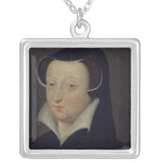 Jacqueline de Rohan , Duchesse de Longueville Square Pendant Necklace