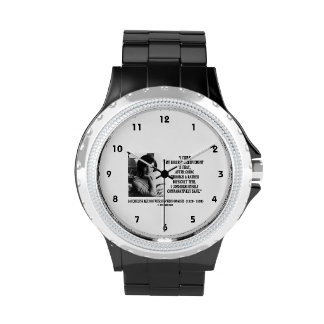 Jacqueline Kennedy Comparatively Sane Quote Wrist Watches