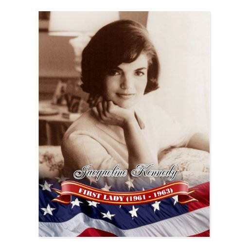 Jacqueline Kennedy, First Lady of the U.S. Post Card