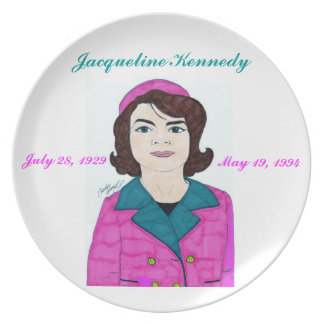 Jacqueline Kennedy - Plate