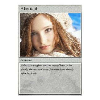 Jacqueline Trading Card