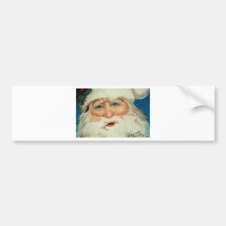 Jacqueline Veltri's Santa Bumper Sticker