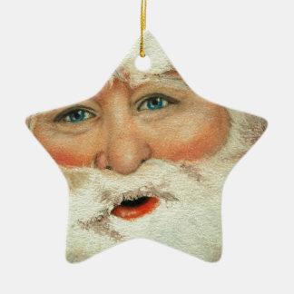 Jacqueline Veltri's Santa Ceramic Ornament