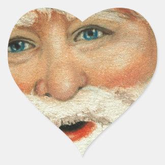 Jacqueline Veltri's Santa Heart Sticker