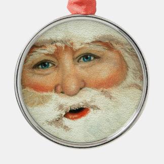 Jacqueline Veltri's Santa Metal Ornament