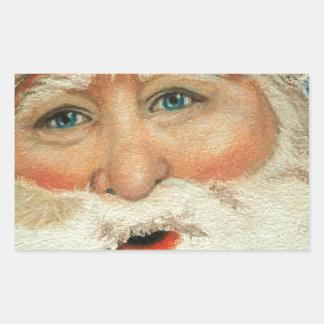 Jacqueline Veltri's Santa Rectangular Sticker