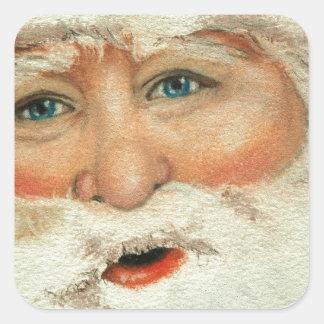 Jacqueline Veltri's Santa Square Sticker