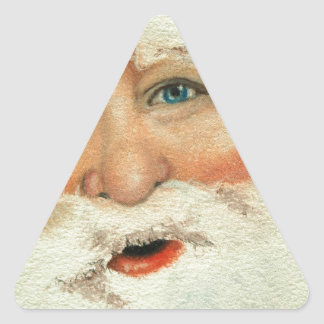 Jacqueline Veltri's Santa Triangle Sticker