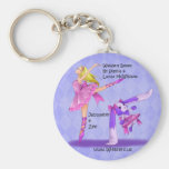 Jacquelyn and Zee Keychains