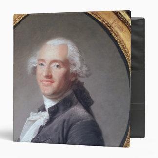 Jacques Alexandre Cesar Charles 3 Ring Binder