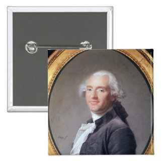 Jacques Alexandre Cesar Charles 2 Inch Square Button