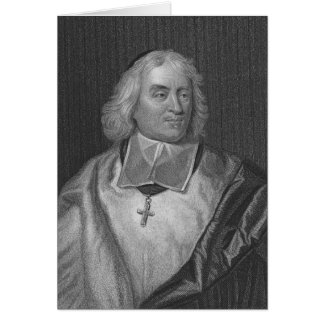 Jacques Bossuet, engraved by Richard Woodman Card