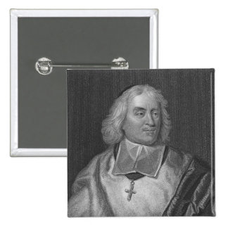 Jacques Bossuet, engraved by Richard Woodman Pinback Button