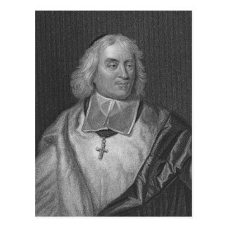 Jacques Bossuet, engraved by Richard Woodman Postcard
