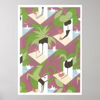 Jacques Camus Jazz Art Poster