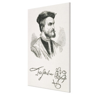Jacques Cartier Canvas Print