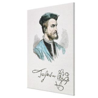 Jacques Cartier Stretched Canvas Print