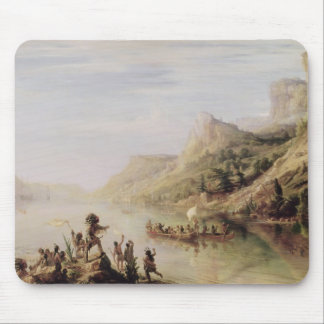 Jacques Cartier Discovering the St. Lawrence Mouse Pad