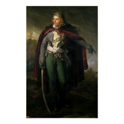 Jacques Cathelineau 1824 Póster